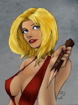 Buffy by barrabox