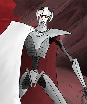 General Grievous by Dustynng