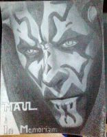 Darth Maul - In Memoriam by Denisaiko