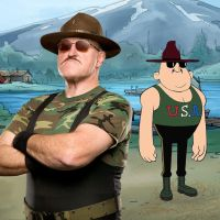 Camp WWE Sgt Slaughter by WWEARTHD