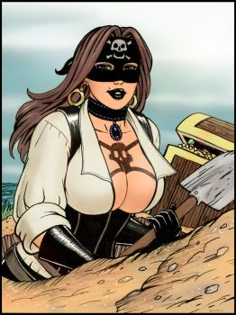 Buxom Pirate 7 colored by rplatt