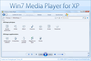 Win7 Media Player for XP FR by Tone94