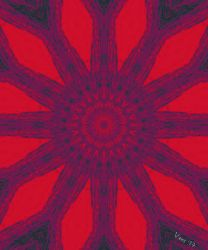 Pinwheel Architect [negative red] by Michael-Vens