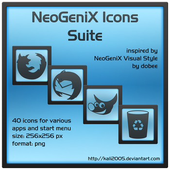 NeoGeniX Icons Suite by guistyles