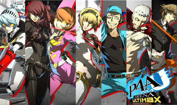 P4A Ultimax : Shadow(-Type) Operatives (Parallel) by AkiyamaFC