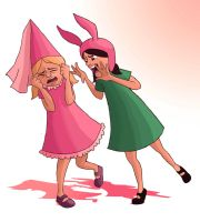 Louise vs Charlise by eas123