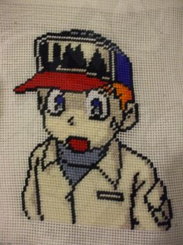 Gray Needlepoint by Dext