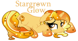 Stargrown Glow - Universe Pony - Downhearted by MonkFishyAdopts