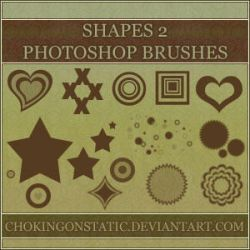 shape brushes 2 by chokingonstatic