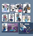 Art Over the Years: Flute Edition by KeLou
