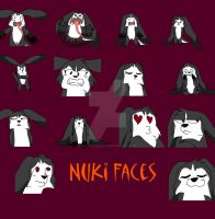 Many Faces of nuki by BahatiUpendo