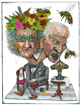 Pollinating My Better Half in 30 years by Graphiterikel
