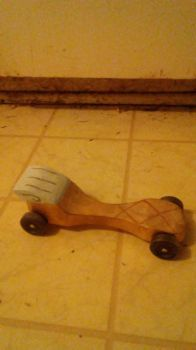 Winged Sandal Pinewood Derby Car by Hawkheart29