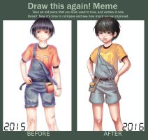 Draw this again MEME by Nuei