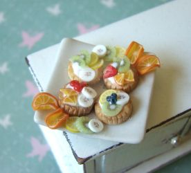 Fruit Tartlets by PetitPlat