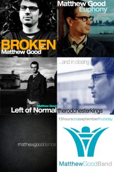 Matthew Good Album covers by Firmato