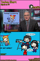 Touhou Short - Hijack on TV by AsyrafFile