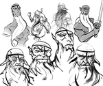 Billy Sketches by Zesiul