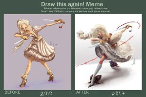 Draw this again! meme - Fatima by SolDevia