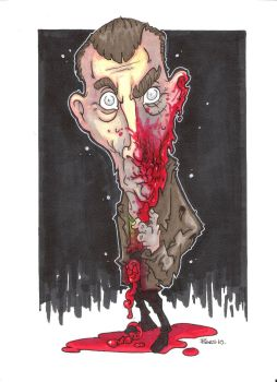 9TH DOCTOR ZOMBIE VARIANT by leagueof1