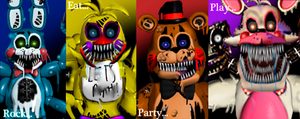 Twisted Toy's poster by Fnaf-fan201