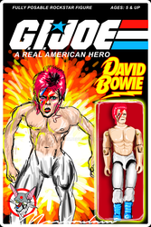 David Bowie - A Real American Hero! by indesition