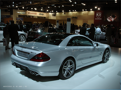 MERCEDES SL 63 AMG by roma1dub