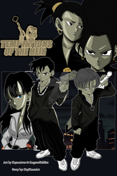 Temptations of the Heir - Official Manga Cover by KeynoRoyal