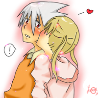maka and soul by springkolors