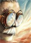 Old Fly Man by VidPen