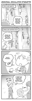 ToaG: Regional Escalator Etiquette by TriaElf9