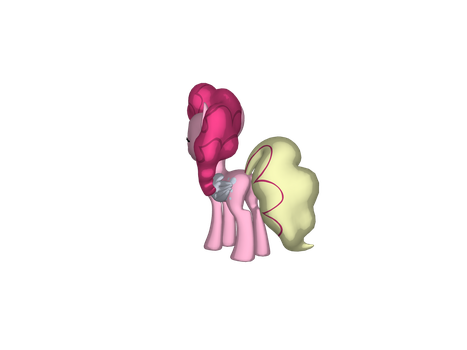 Pinkie's tail starts to change color by jimmyhook19202122