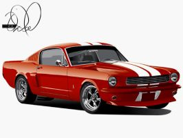 '66 Ford Mustang by cityofthesouth