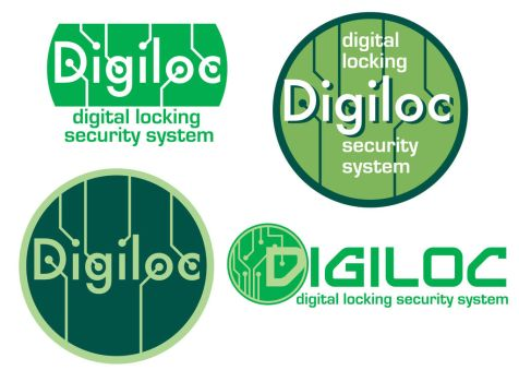 Logo Design - Digiloc by livewiredstudios