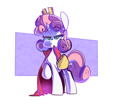 Princess Sweetie Belle by SourSpot