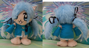 Catgirl Plushie For Sam by AshFantastic