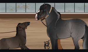 Little Challenge - Crixus Meet Krixus by KittycatNita