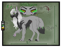 [G] Wishgrove reference sheet by EnchantedDoveWolf