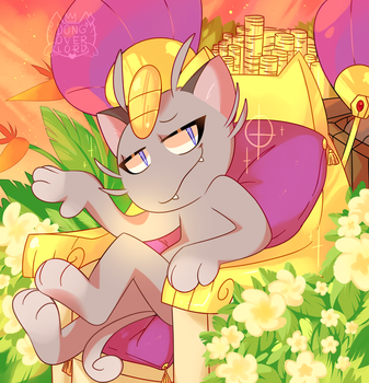 alola meowth by dongoverlord