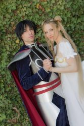 Prince Endymion and Serenity! by FraSoldiers
