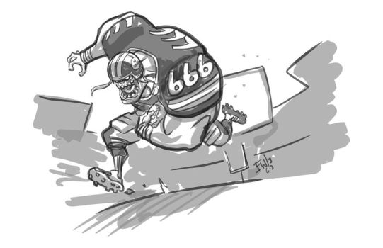 Go Steelers - Player 666 - DRS Request by EryckWebbGraphics