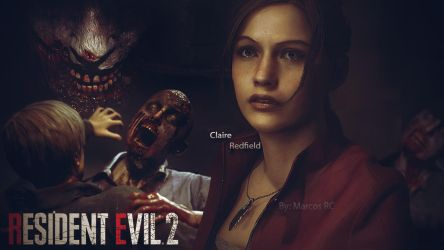 Claire RE2 REMAKE (FANART) by MarK-RC97