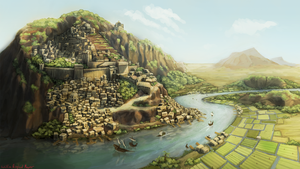 The first City by Urkenstaff