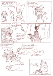 Foreign Shadows  page 2 draft by ChillySunDance