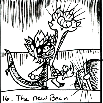 BB Inktober Event 16: The New Bean by Ryu-Oni