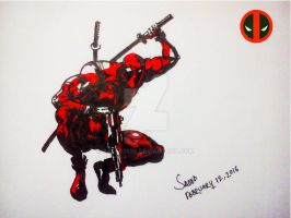 #DEADPOOL by Saeed2898