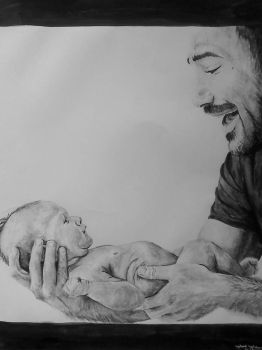 Father and Son by MiszInsane