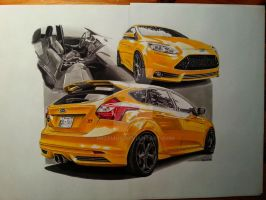 2013 Ford Focus ST by przemus
