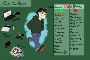 Meet The Artist by CosmicAscension