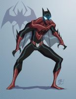The Amazing Spider-Bat by EricGuzman